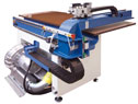 Leather cutting machine